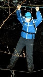 Touwbrug post D - WAMPEX 2011 (c) Sietse de Boer