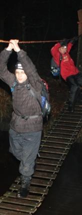 Junglebrug post E WAMPEX 2011 - (c) Sietse de Boer