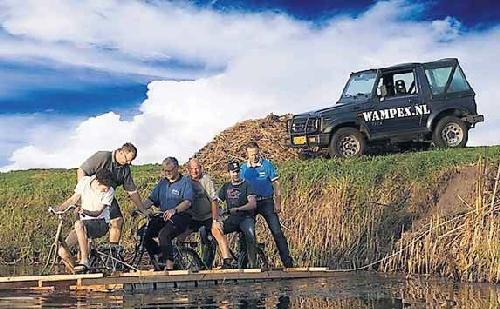 Voorbereidingen WAMPEX 2011
